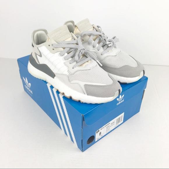Adidas Nite Jogger Grey Pack Women's 8